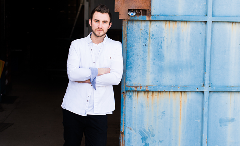 Oli Martin, Head Chef in the Hipping Hall Restaurant near Kirkby Lonsdale