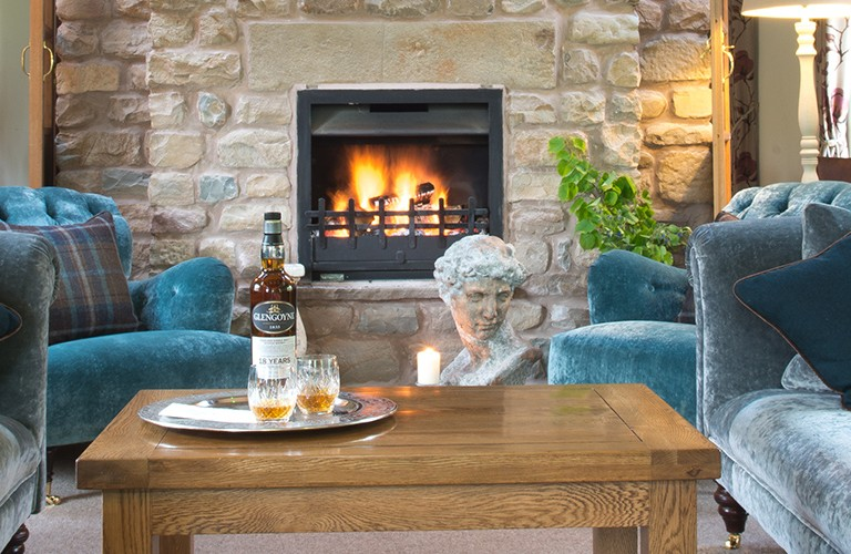Enjoy a night's stay in the Old Stables at Hipping Hall Hotel & Restaurant in Kirkby Lonsdale