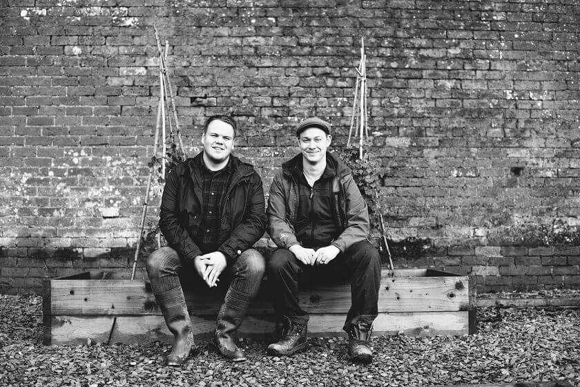 Kevin and Martin, The Forest Side Restaurant Chefs takeover Hipping Hall in Kirkby Lonsdale