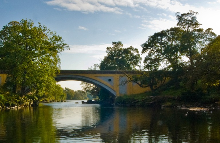 Walk along the Rive Lune during your stay at Hipping Hall in Kirkby Lonsdale